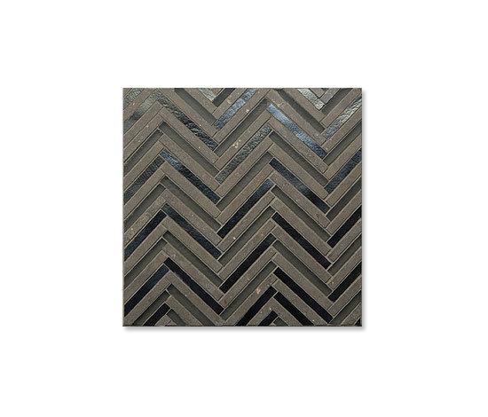 Avani Herringbone Mojo by Mandala   Glass mosaics
