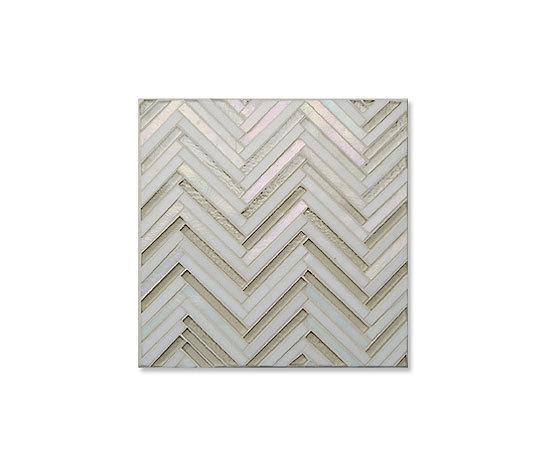Avani Herringbone Osmosis von Mandala | Glas Mosaike