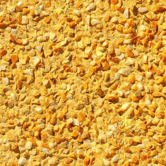 PIZ colour yellow granular by PIZ s.r.l. | Facade cladding