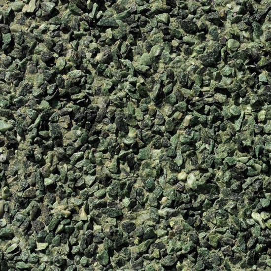 PIZ colour green granular by PIZ s.r.l.   Facade cladding