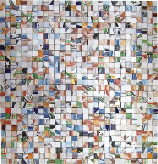 Patchwork mosaic PW 010 de Henry Mosaicos   Mosaicos