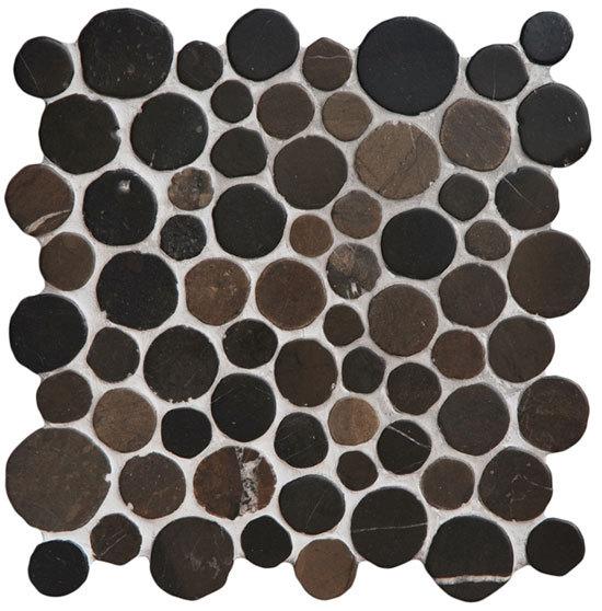 Round Dia M Silva von Mosaic Miro Production | Naturstein Mosaike