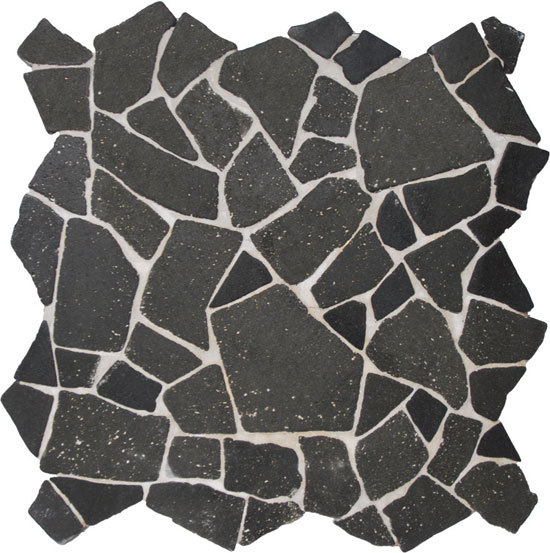 Palladiana Gaia XL Lava de Mosaic Miro Production | Mosaïques