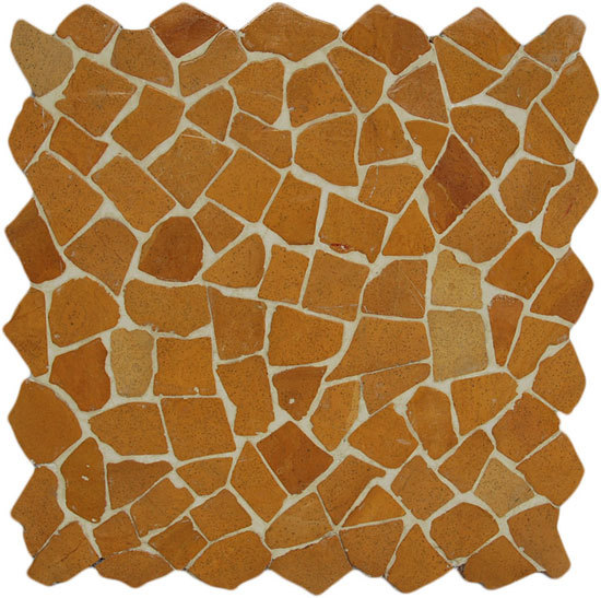 Paladiana Gaia M Ocre de Mosaic Miro Production | Mosaïques