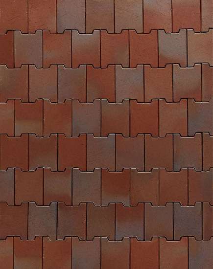Zittau compound pavers by A·K·A Ziegelgruppe | Ceramic bricks