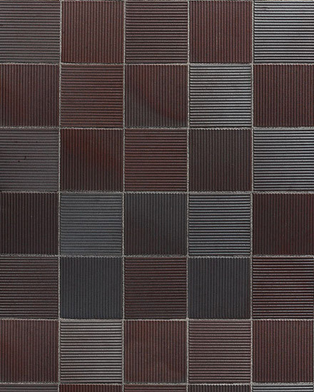 Calau ribbed slab by A·K·A Ziegelgruppe | Tiles