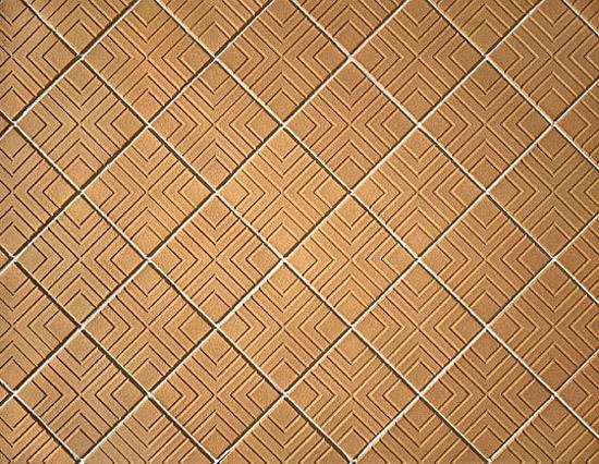 Waffle pattern tile de A·K·A Ziegelgruppe | Baldosas de suelo