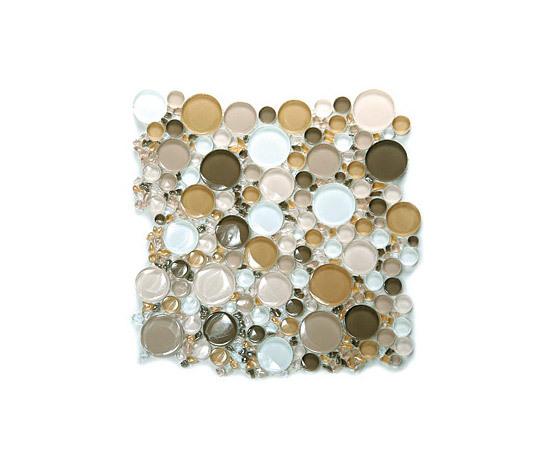 Bubbles Glass Mosaic M18 de EVIT | Mosaïques verre