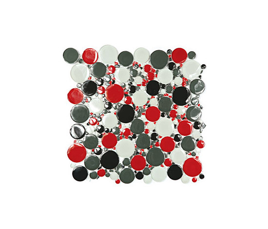Bubbles Glass Mosaic M04 de EVIT | Mosaïques verre