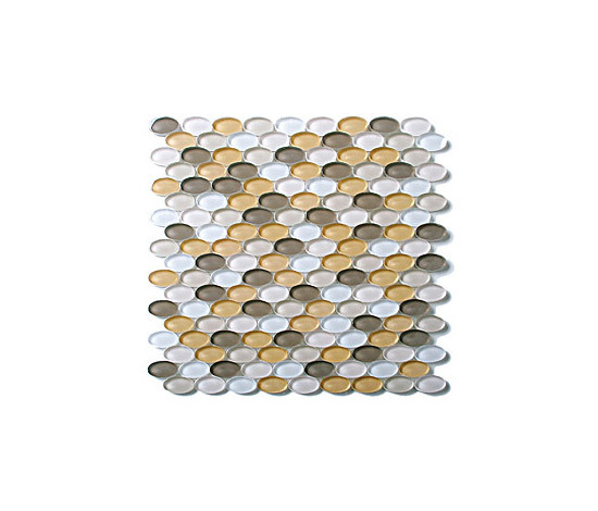 Oval Glass Mosaic M18 de EVIT | Mosaïques