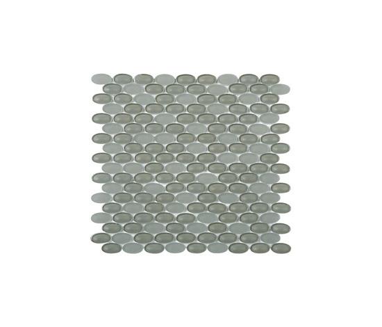 Ovale mosaico di vetro ES57 di EVIT | Mosaici