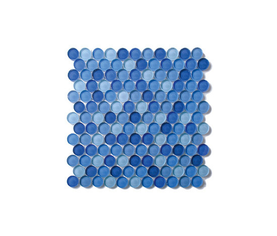 Round Glass Mosaic M05 by EVIT | Glass mosaics