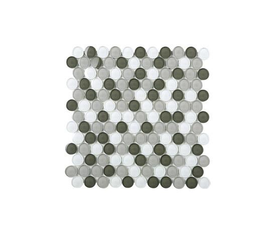 Round Glass Mosaic M17 by EVIT | Glass mosaics