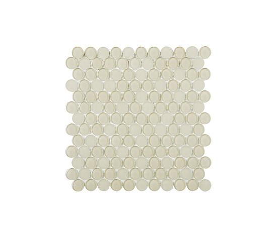 Round Glass Mosaic ES45 de EVIT | Mosaïques verre