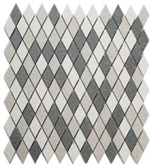 Sandstone Blends Multi Grey Diamond by EVIT | Mosaics