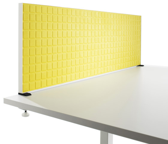 Alumi Table Screen by Abstracta | Table dividers