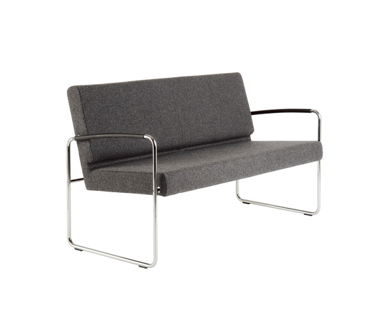 Genio Lounge 2-Seater by Dietiker | Waiting area benches