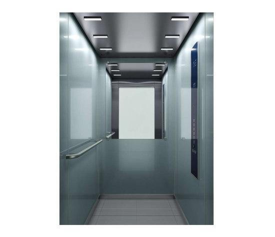 WINTER SILVER SOUND 0541 de Kone | Suspension elevators