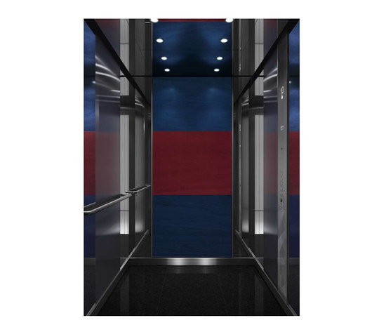 WINTER COLOR COOL 0941 by Kone | Suspension elevators