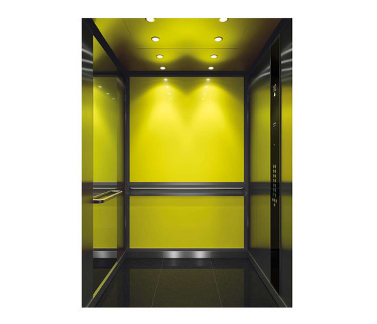AUTUMN COLOR COOL 1031 by Kone | Suspension elevators