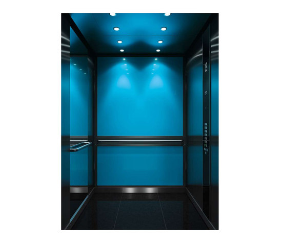 WINTER COLOR COOL 1041 by Kone | Suspension elevators