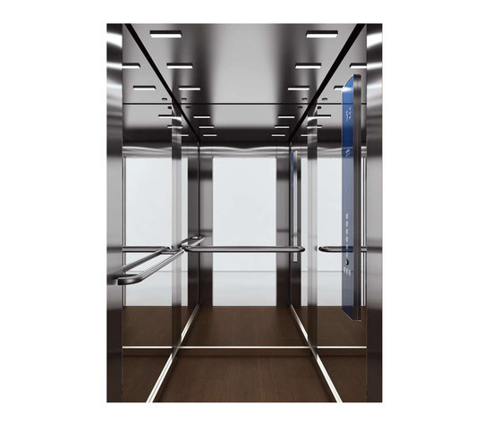 WINTER 0201 by Kone | Suspension elevators