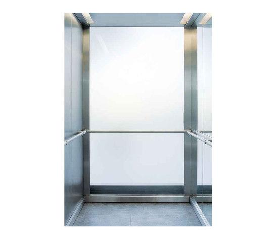 Schindler 5400 by Schindler | Suspension elevators