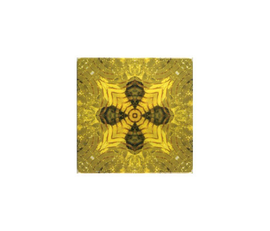 Yellow Glitz 3 by Dominic Crinson | Ceramic tiles