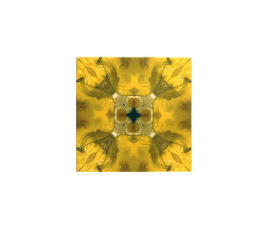 Yellow Glitz 7 by Dominic Crinson | Ceramic tiles