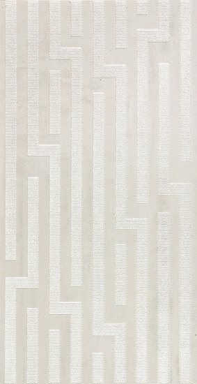 Artech Skin Greca Bianco Tile by Refin | Ceramic tiles