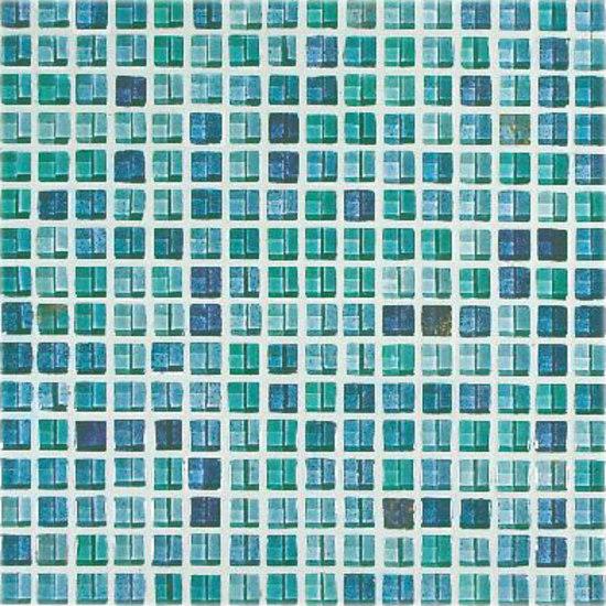 Azzurro 1,1x1,1cm de VITREX S.r.l. | Mosaïques verre
