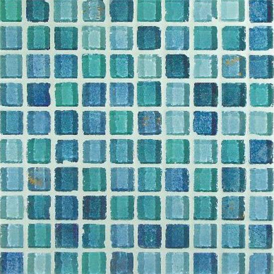 Azzurro 2,3x2,3cm de VITREX S.r.l. | Mosaïques verre