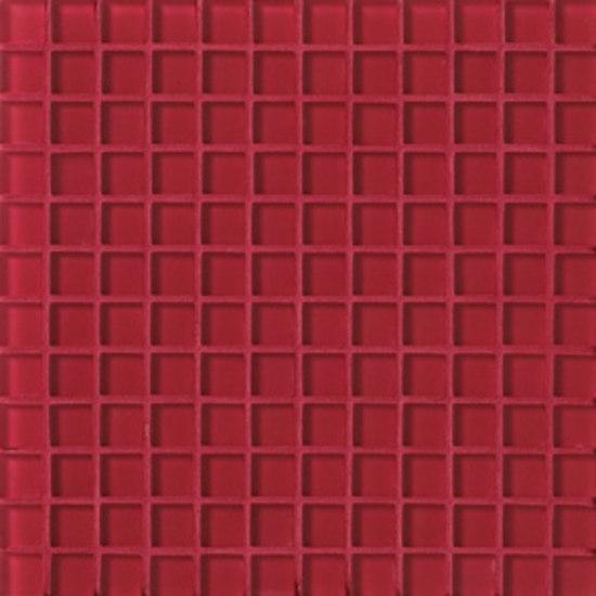 VF7 Rosso Matt 2,3x2,3 cm de VITREX S.r.l. | Mosaïques verre