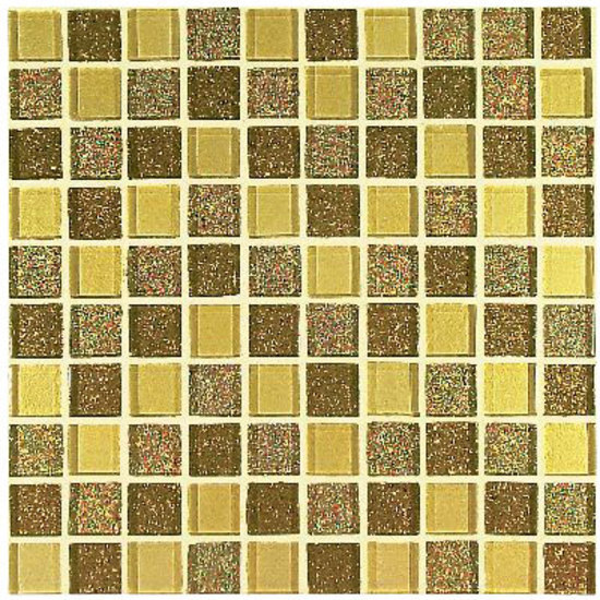 233G Oro Mix 2,3x2,3 cm by VITREX S.r.l. | Glass mosaics