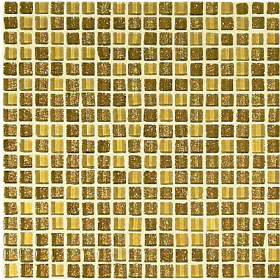 103G Oro Mix 1x1cm by VITREX S.r.l. | Glass mosaics