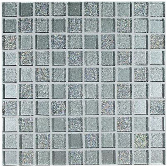 233S Argento Mix 2,3x2,3 cm by VITREX S.r.l. | Glass mosaics