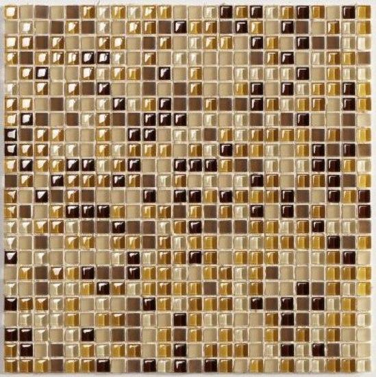 N06 Sabbia Mix 1,1x1,1 cm by VITREX S.r.l. | Glass mosaics