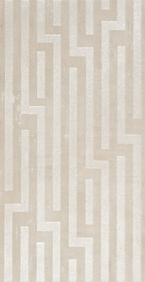 Artech Skin Greca Beige Tile by Refin | Ceramic tiles