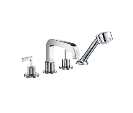 AXOR Citterio 4-Hole Tile Mounted Bath Mixer by AXOR | Bath taps