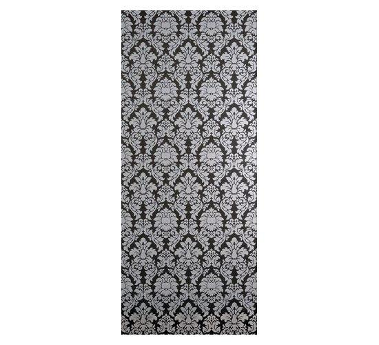 Luxury Broccato Nero Dec 30,5x72,5cm* von Ceramica Magica | Keramik Fliesen
