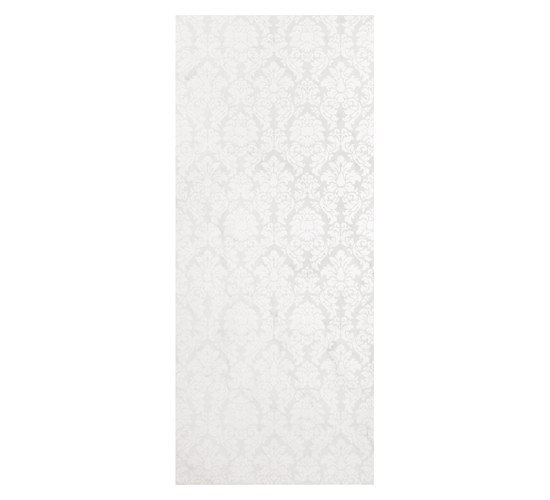 Luxury Broccato Bianco Dec 30,5x72,5cm* by Ceramica Magica | Ceramic tiles