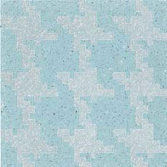 Invaders Large Cielo terrazzo tile by MIPA   Mineral composite tiles