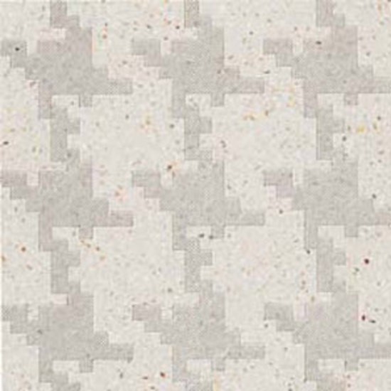 Invaders Large Avorio terrazzo tile by MIPA | Mineral composite tiles