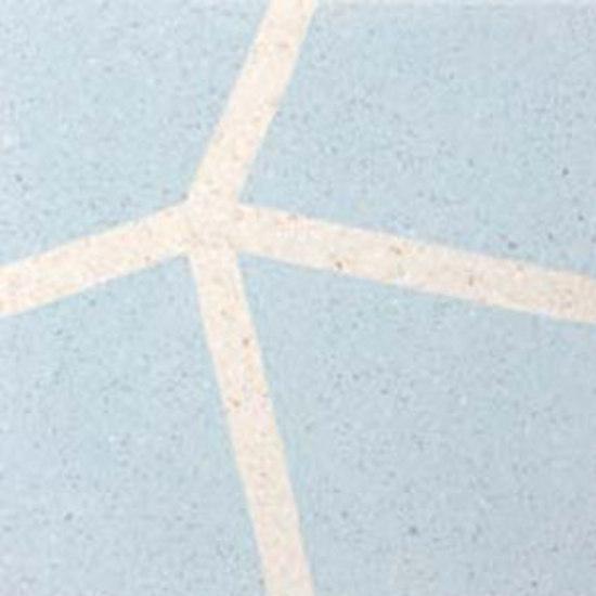 Zaha Divisionale - cielo e avorio by MIPA | Terrazzo tiles