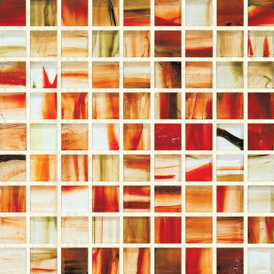 GemStone Glass Mosaic K00356 de Hirsch Glass   Mosaïques verre