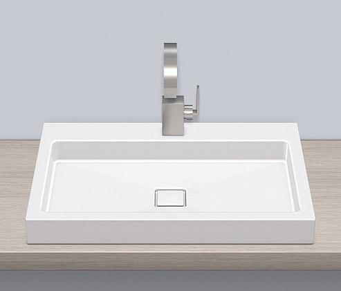 Lavabos lavabos ab re700 2 alape busalt design for Embellecedor rebosadero lavabo