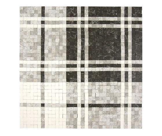 Balmoral Plaid Dark Olive di AKDO | Mosaici pietra naturale