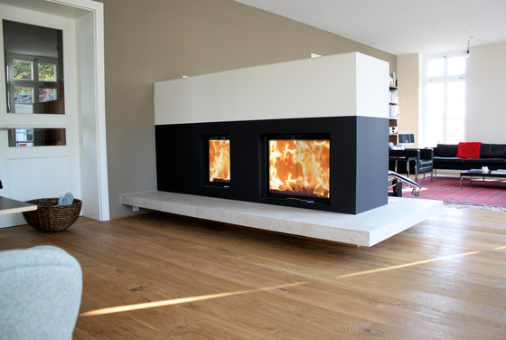 80x64S II by Austroflamm | Wood fireplaces