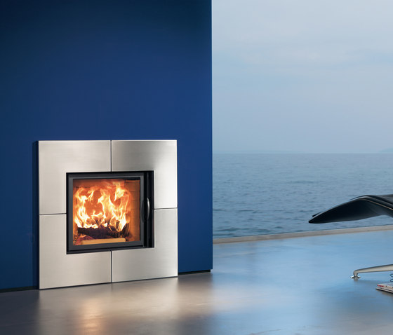 Irony Fireplace 2 by Austroflamm | Wood fireplaces