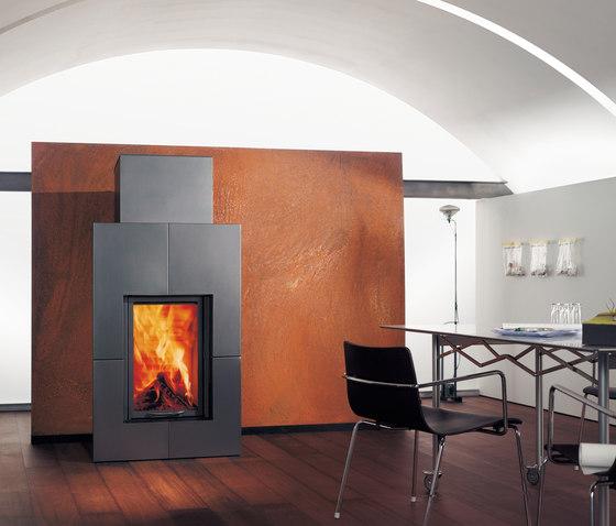 Irony Fireplace 3 by Austroflamm   Wood fireplaces